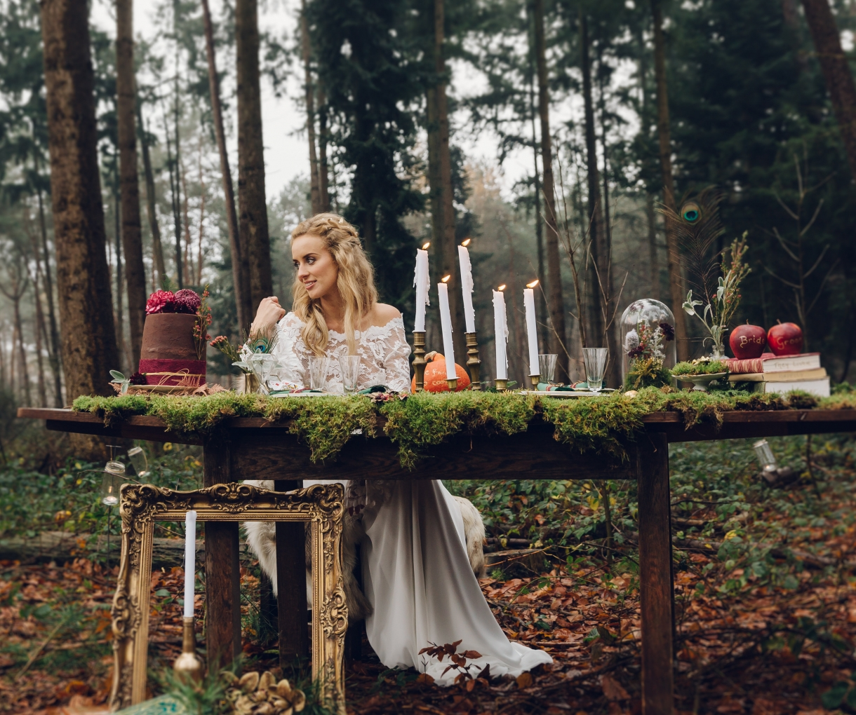 Winter Fairytale Wedding Shoot